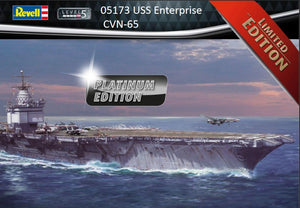 Revell 05173 USS Enterprise CVN-65 (Platinum Edition)