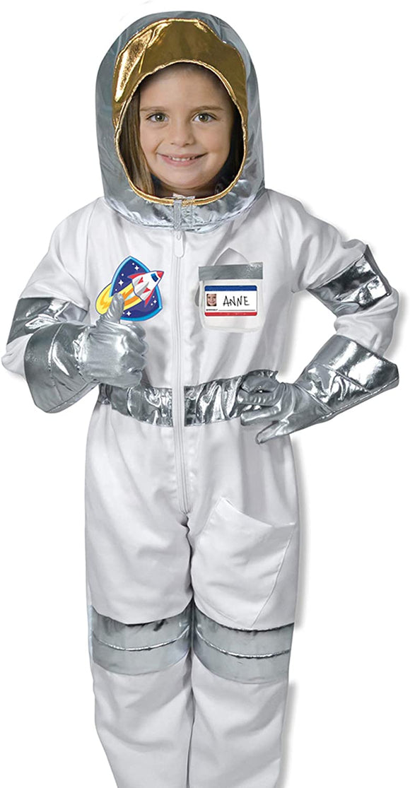 MELISSA AND DOUG 18503 ASTRONAUT DRESSING UP OUTFIT