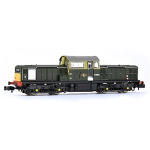 EFE E84502 CLASS 17 D8594 BR GREEN SMALL YELLOW PANELS