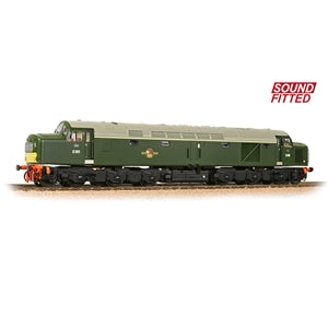 BACHMANN LOCOMOTIVE 32-485SF CLASS 40 DIESEL D365 BR GREEN SMALL YELLOW PANELS SOUND FITTED