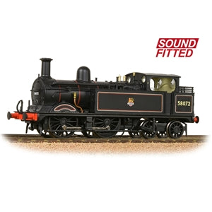 BACHMANN 31-742SF MR 1532 CLASS 58072 BR LINED  BLACK EARLY EMBLEM SOUND FITTED