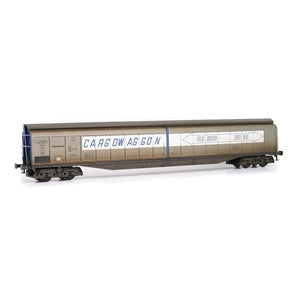EFE E87007 CARGOWAGGON 279-7-690 DANZAS GREAT BRITAIN CONTINENT WEATHERED