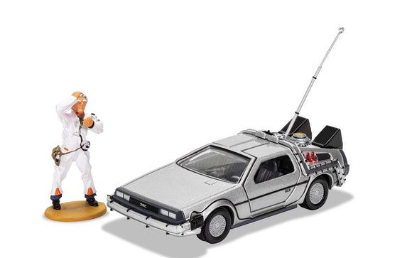 CORGI CC05503 BACK TO THE FUTURE DELOREAN & DOC BROWN