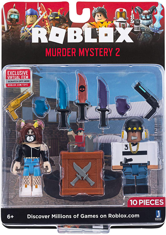 ROBLOX ROB0209 MURDER MYSTERY 2 TWIN PACK