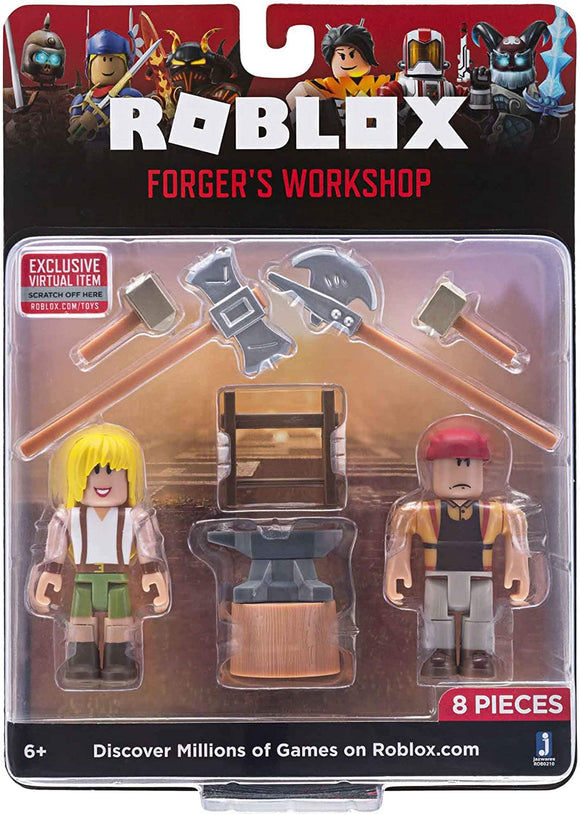 ROBLOX ROB0210 FORGERS WORKSHOP TWIN PACK
