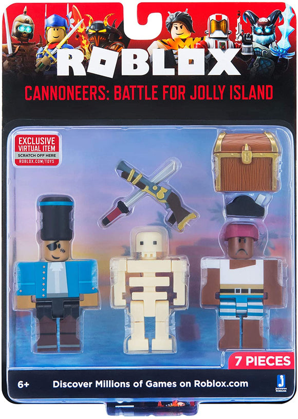 ROBLOX ROB0266 CANNONEERS BATTLE FOR JOLLY ISLAND