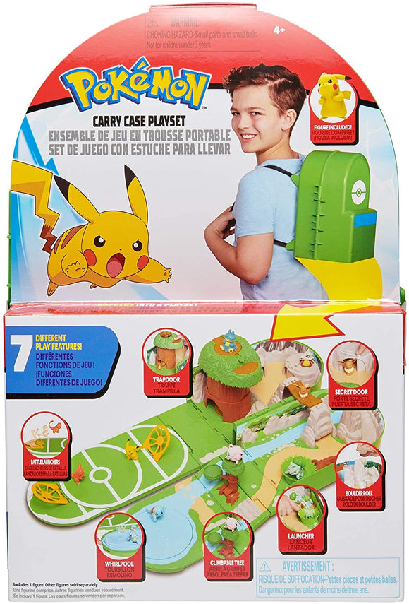 POKEMON PKW0029 CARRYCASE PLAYSET