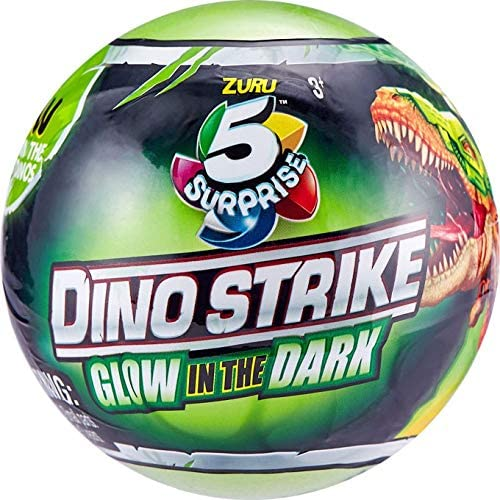 ZURU 7769 DINO STRIKE 5 SURPRISE GLOW IN THE DARK SERIES 2