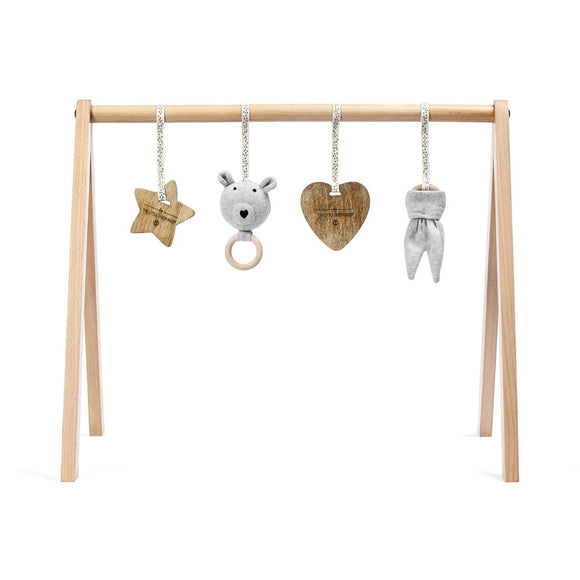 Little Green Sheep A frame wooden play gym- bear love