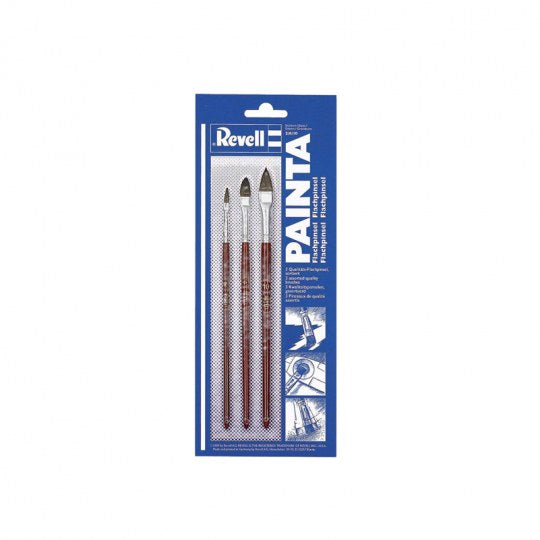 Revell 29610 Painta Flatbrush-Set