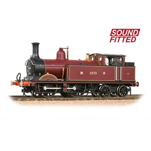BACHMANN 31-740SF  MR 1532 CLASS 1273 MIDLAND RAILWAY CRIMSON LAKE SOUND FITTED
