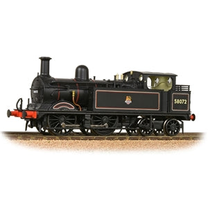 BACHMANN 31-742 MR 1532 CLASS 58072 BR LINED  BLACK EARLY EMBLEM