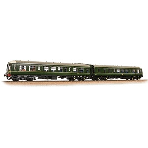 BACHMANN LOCOMOTIVE 32-900C CLASS 108 TWO CAR DMU BR GREEN WITH SPEED WHISKERS