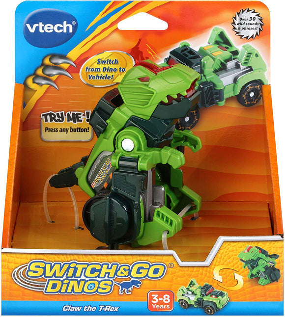 VTECH 183103 SWITCH & GO DINOS CLAW THE T-REX