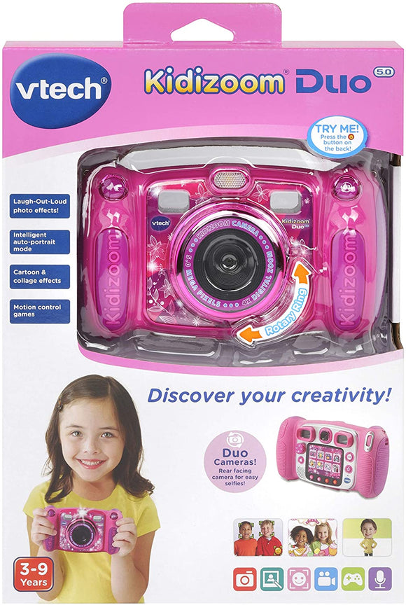 VTECH 507153 KIDIZOOM DUO CAMERA 5.0 PINK