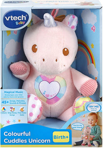 VTECH 528103 COLOURFUL CUDDLES UNICORN