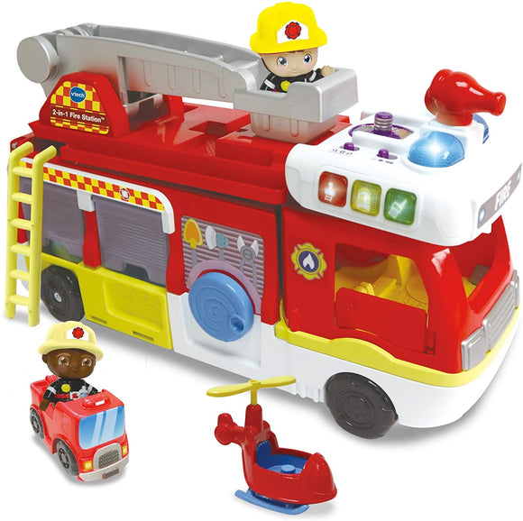 VTECH 529803 TOOT TOOT 2 IN 1 FIRE STATION