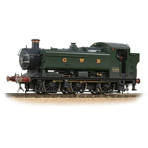 BACHMANN 35-025SF 94 XX CLASS PANNIER TANK 9402 GWR GREEN SOUND FITTED