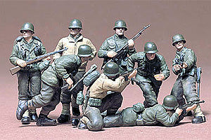 TAMIYA 35048 U.S INFANTRY WEST EUROPEAN THEATER   1/35 SCALE