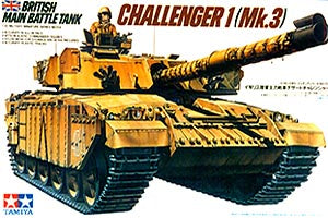 TAMIYA 35154 BRITISH MAIN BATTLE TANK CHALLENGER 1 1/35 SCALE