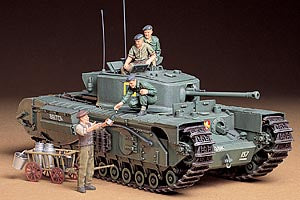 TAMIYA 35049 35210 CHURCHILL MK.VII TANK 1/35 SCALE