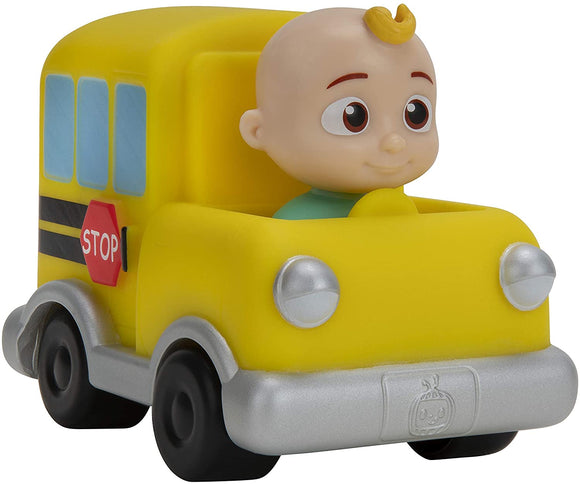COCOMELON WT80110 SCHOOL BUS PUSH ALONG