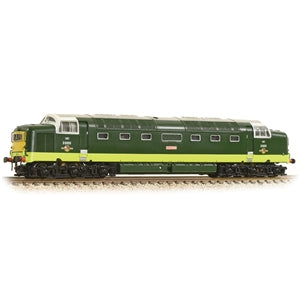 GRAHAM FARISH 371-285A CLASS 55 D9009 ALYCIDON BR TWO TONE GREEN