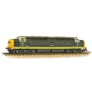 GRAHAM FARISH 371-289 CLASS 55 D9001 ST PADDY BR TWO TONE GREEN WEATHERED