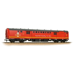 BACHMANN 39-422 BR MK1 POS POST OFFICE SORTING VAN ROYAL MAIL TPO RED