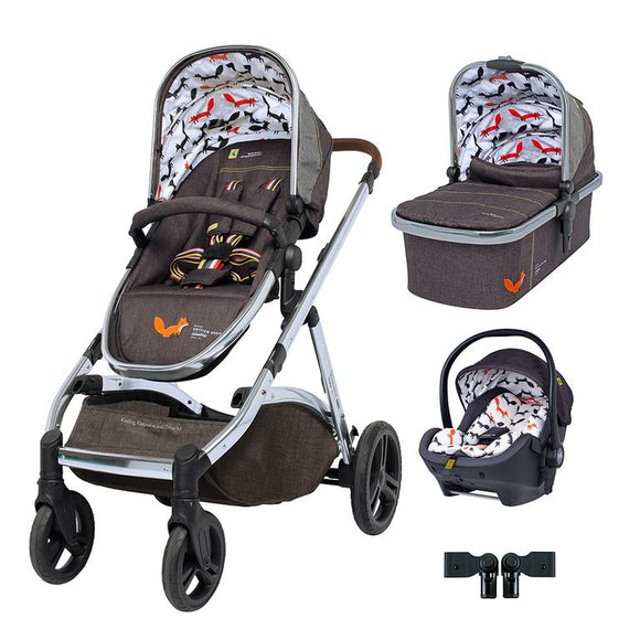 Cosatto Wow XL Premium Travel System Bundle Mister Fox