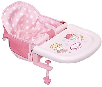 BABY ANNABELL 701126 TABLE FEEDING CHAIR