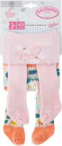 BABY ANNABELL TiIGHTS 2 PACK FOR 43cm DOLL
