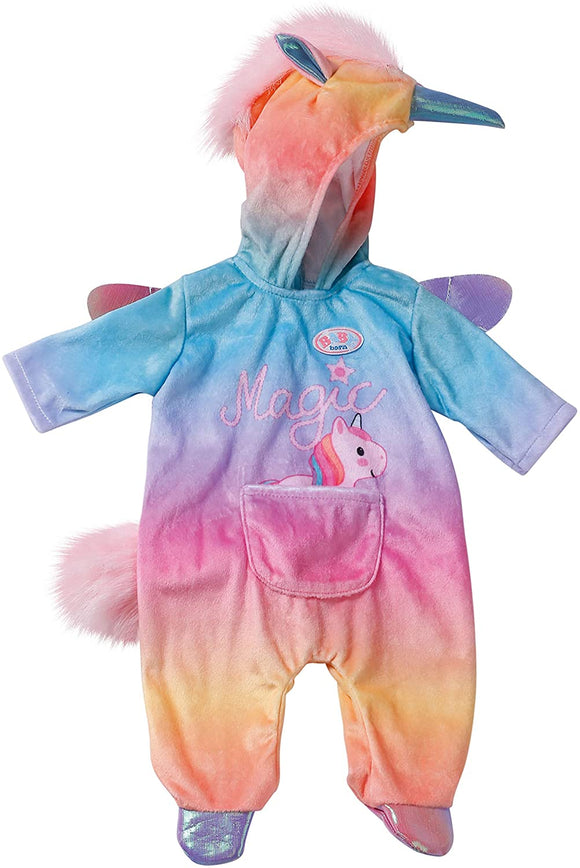 BABY BORN 828205 UNICORN ONESIE