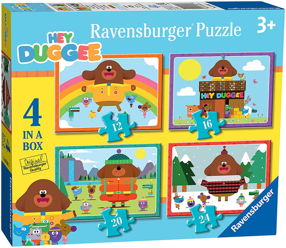 RAVENSBURGER 3061 HEY DUGGEE 4 IN A BOX PUZZLE