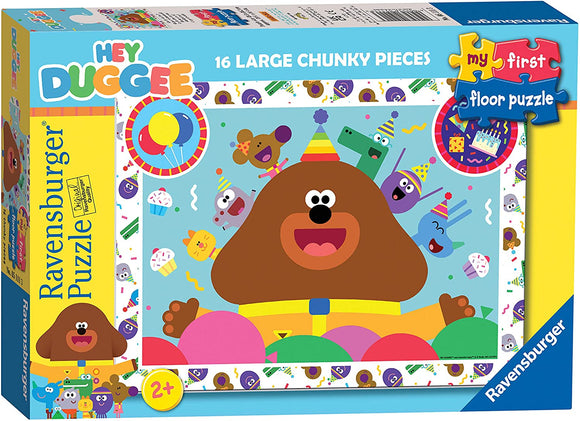 RAVENSBURGER 5111 HEY DUGGEE MY FIRST 16 PIECE GIANT FLOOR PUZZLE