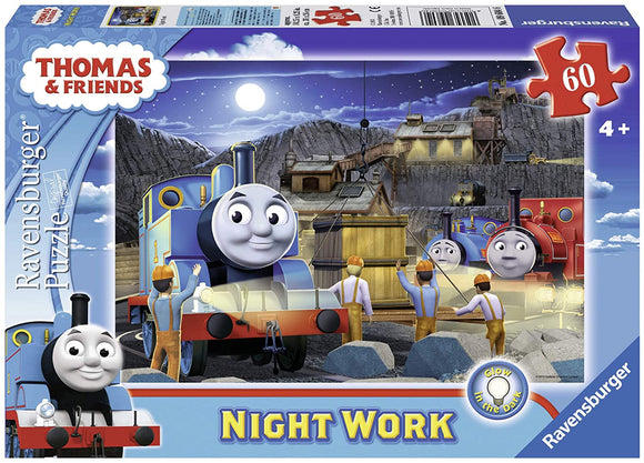 RAVENSBURGER 9604 THOMAS AND FRIENDS NIGHT WORK 60 PIECE PUZZLE