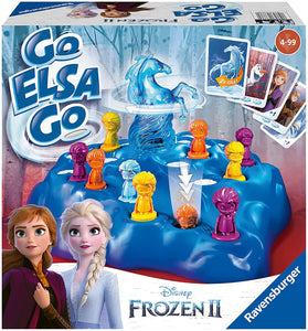 RAVENSBURGER 20425 FROZEN II GO ELSA GO GAME