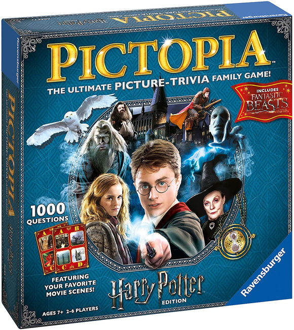 RAVENSBURGER 26293 PICTOPIA HARRY POTTER EDITION BOARD GAME
