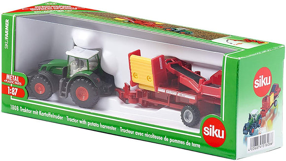 SIKU 1808 FENDT 939 TRACTOR WITH POTATO HARVESTER