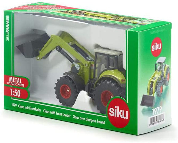 SIKU 1979 CLAAS WITH FRONT LOADER 1:50 SCALE