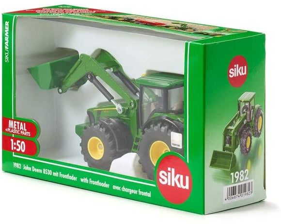 SIKU 1982 JOHN DEERE WITH FRONT LOADER 1:50 SCALE