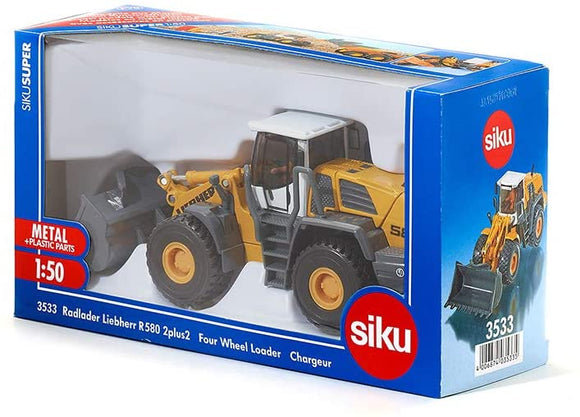 SIKU 3533 LIEBHERR R580 FOUR WHEEL LOADER 1:50 SCALE