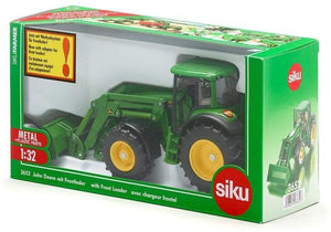 SIKU 3652 JOHN DEERE WITH FRONT LOADER 1:32 SCALE