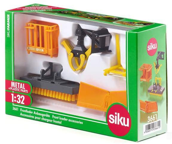 SIKU 3661 FRONT LOADER ACCESSORIES 1:32 SCALE