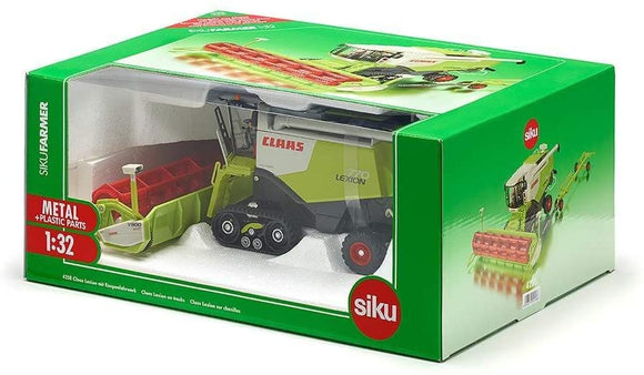 SIKU 4258 COMBINE HARVESTER CLAAS LEXION ON TRACKS 1:32 SCALE