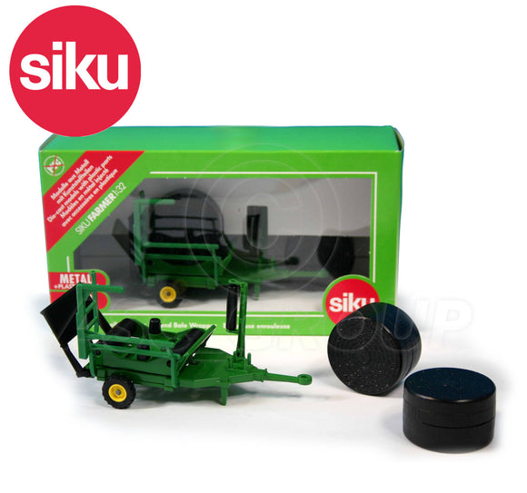 SIKU 2266 ROUND BALE WRAPPER 1:32 SCALE