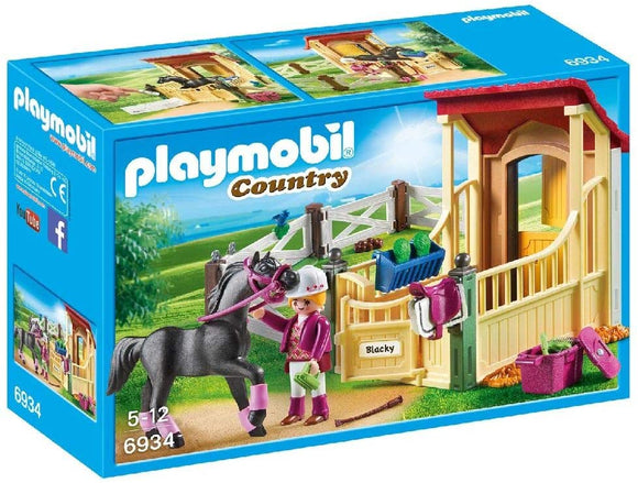 PLAYMOBIL 6934 COUNTRY HORSE STABLE WITH ARABER