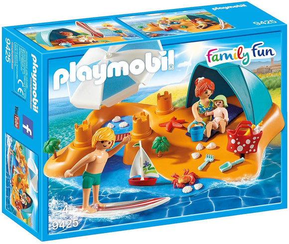 PLAYMOBIL 9425 FAMILY FUN SUMMER VILLA FAMILY ON THE BEACH