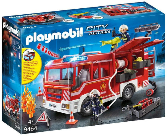 PLAYMOBIL 9464 CITY ACTION FIRE BRIGADE FIRE ENGINE