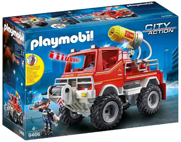 PLAYMOBIL 9466 CITY ACTION FIRE BRIGADE FIRE TRUCK